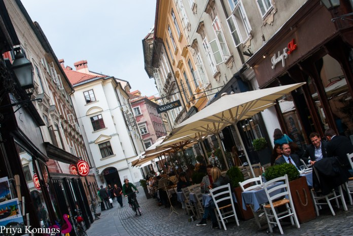 Day Trip to Slovenia: Cafes in Ljubljana