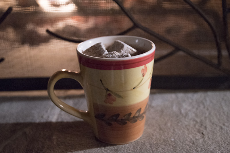 Glamping in Lexington, Virginia Hot Chocolate