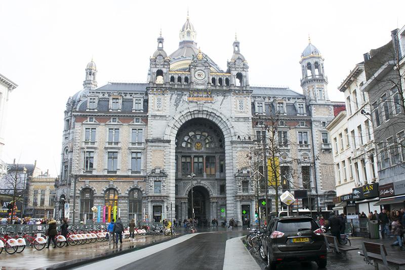 Two Days in Antwerp Antwerp Centraal Station