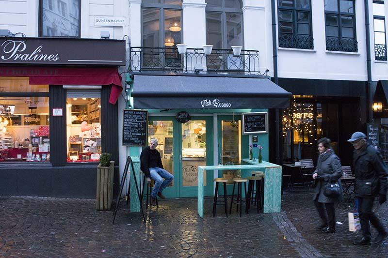 Two Days in Antwerp Streets of Antwerp