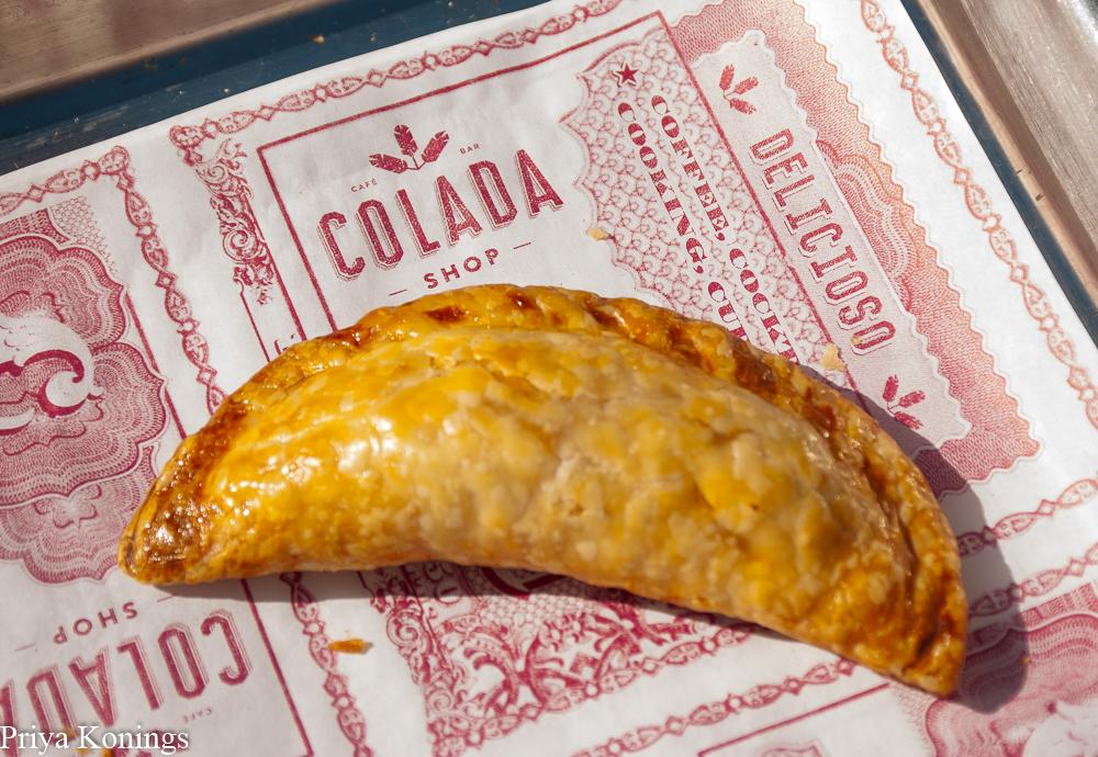 Empanadas at Colada Shop
