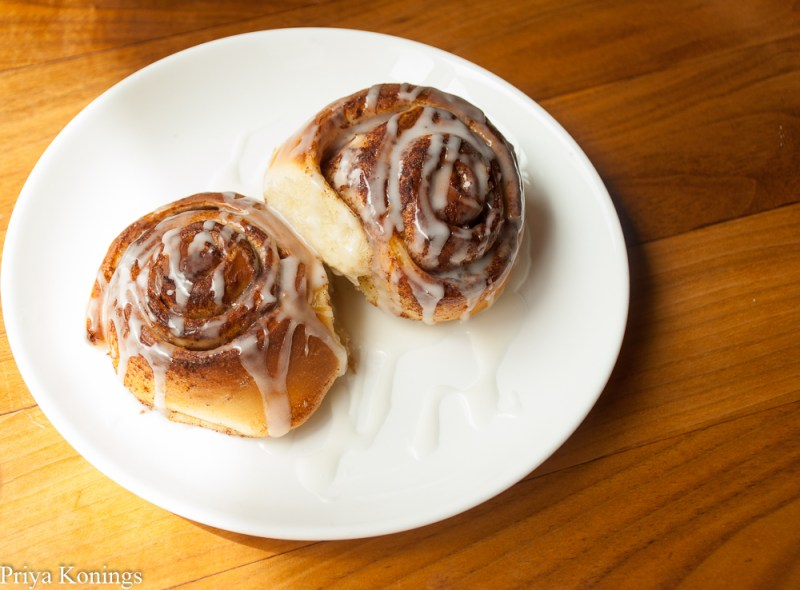 Cinnamon buns from the Proof DC Brunch Menu