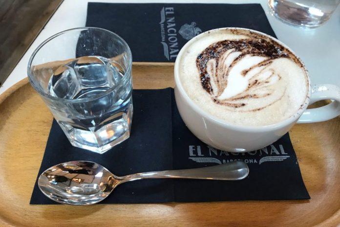 Coffee at El Nacional Barcelona