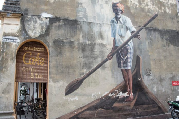 Exploring Singapore and Penang:  Street Art in George Town