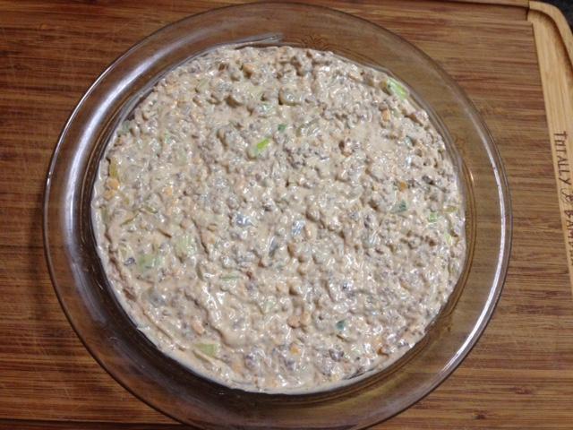 Dip prior to baking