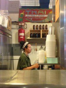 Thai Restaurant in Koreatown of LA California