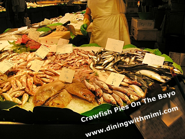 Fish Market Barcelona Spain
