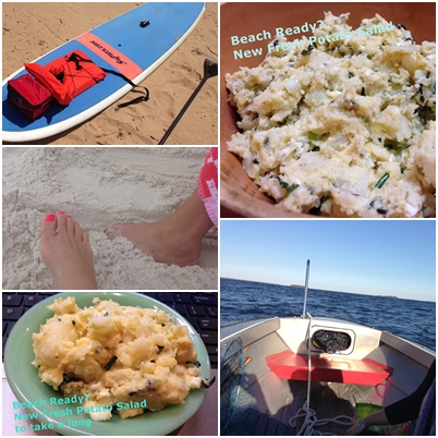 Beach Ready? New Fresh Potato Salad Recipe