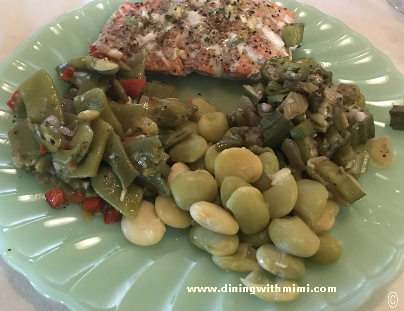 Flavorful Italian Green Beans www.diningwithmimi.com