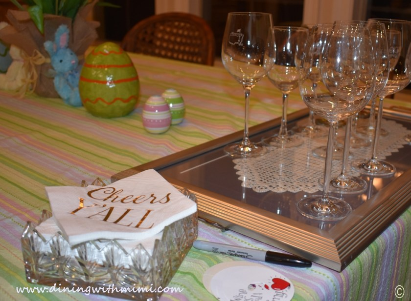 Wine glasses for Plan a wine tasting with friends www.diningwithmimi.com
