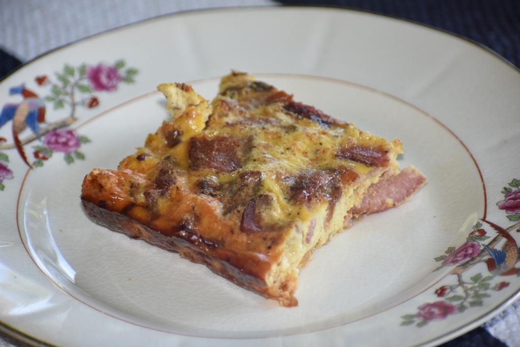 Busy Mom's Beckon The Bacon Frittata Recipe