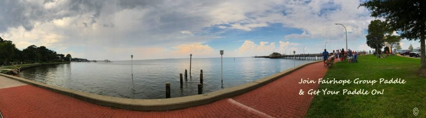 Bay view Join Fairhope Paddle Group www.diningwithmimi.com