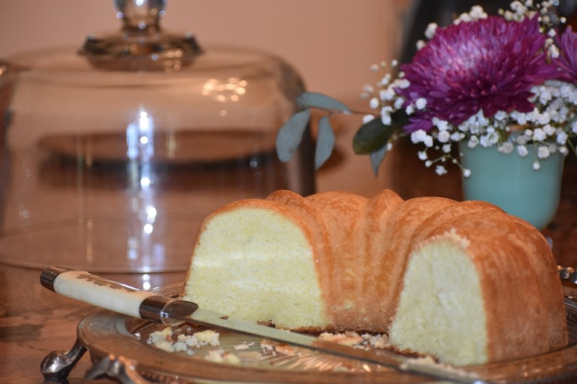 Pound Cake reward for My Fearless Sous Chef in Training www.diningwithmimi.com