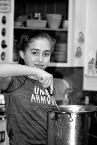 My Fearless Sous Chef In Training www.diningwithmimi.com