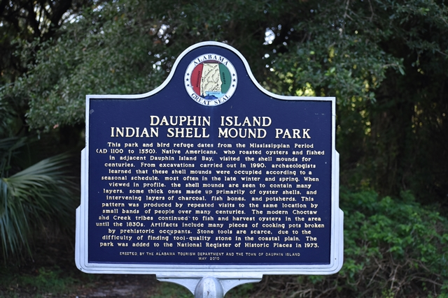Indian Shell Mound Park Unwind on Dauphin Island www.diningwithmimi.com