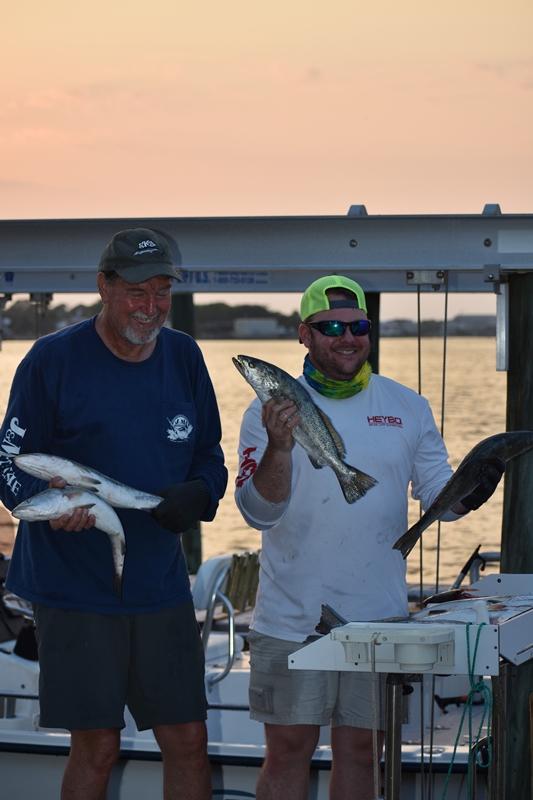 Fishermen who Unwind on Dauphin Island www.diningwithmimi.com