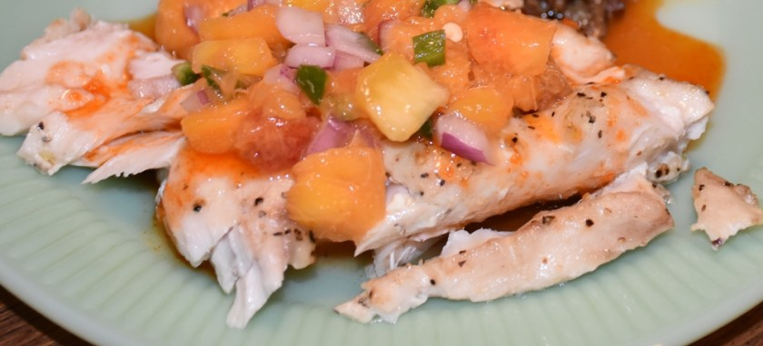 Food Column Recipe Fish to Table- Sriracha Kissed Fresh Snapper and More www.diningwithmimi.com