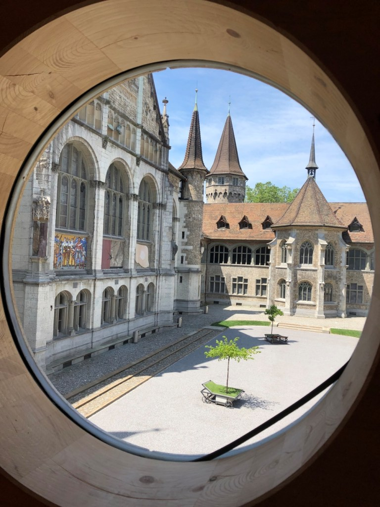 View from Neo Gothic Castle in While Missing The Swiss Jet-Lagged and Hoarding Chocolate www.diningwithmimi.com
