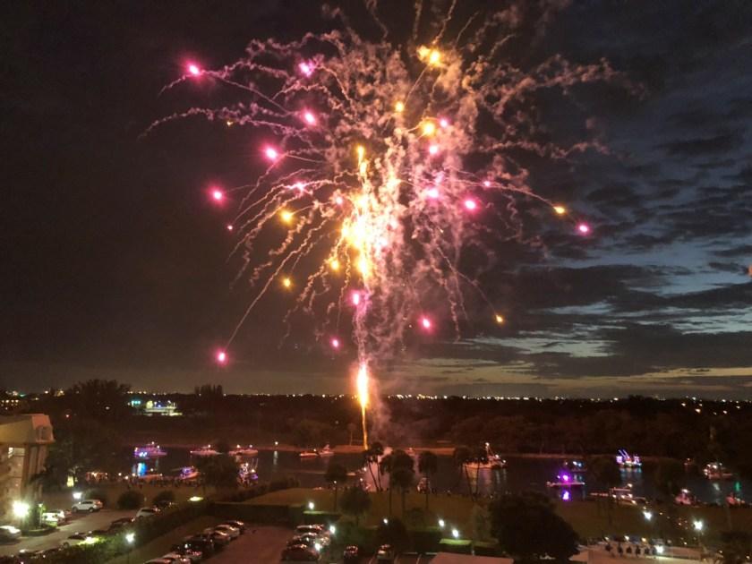 XMAS Palm Beach Fireworks My new Mascot and New Years Day menu www.diningwithmimi.com