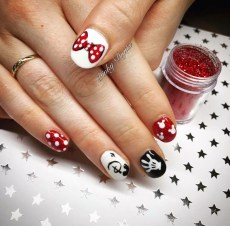 Disney theme nails