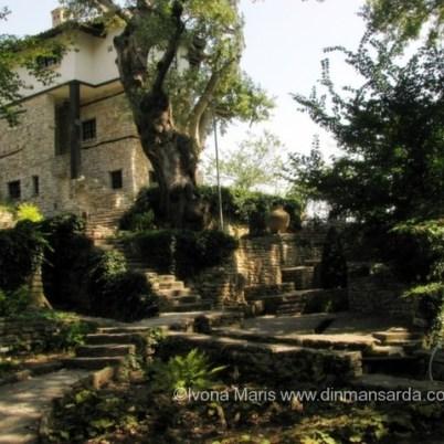 Gradinile castelului din Balchik