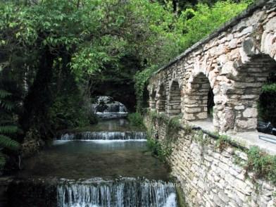 Cascada si podul suspinelor de la Balcic