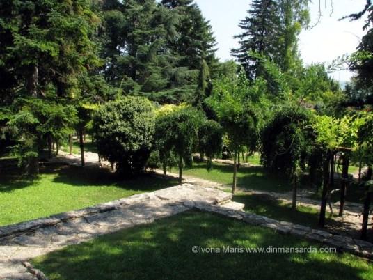 Gradina pomilor plangatori de la Balcic
