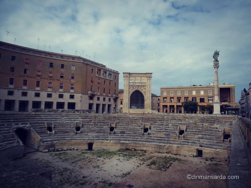 Amfiteatrul roman - Lecce