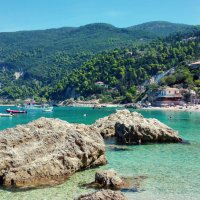 Încă o zi în vestul insulei Lefkada: Agios Nikitas - Milos Beach