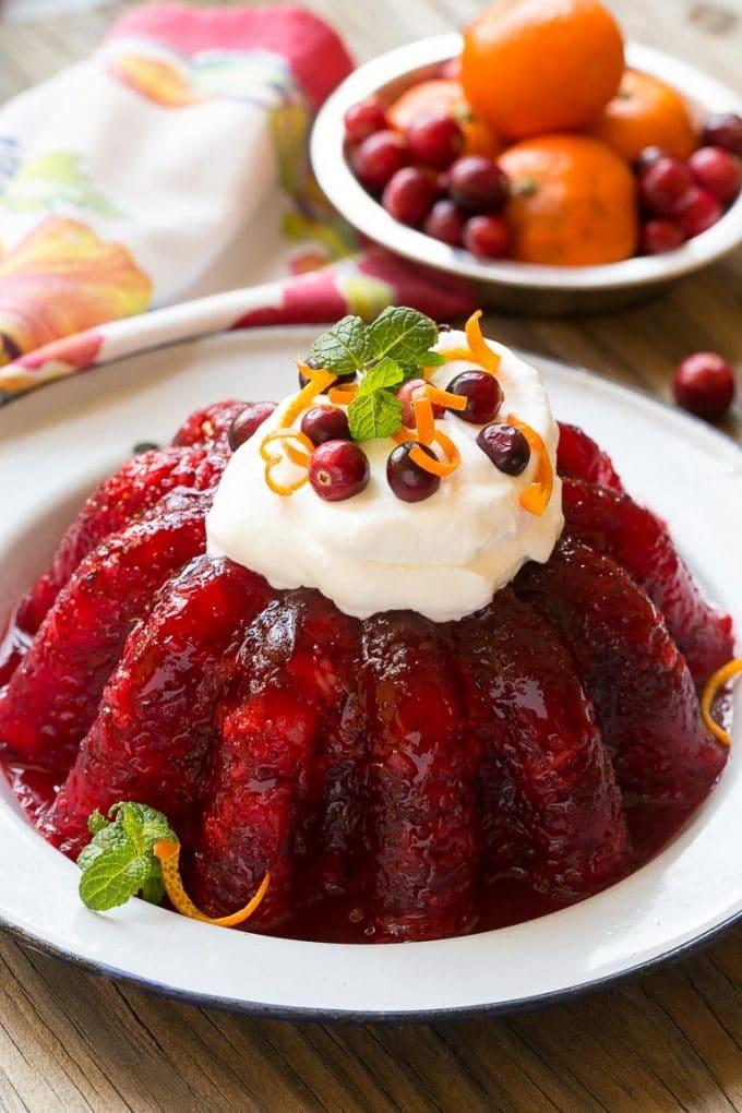Cranberry Gelatin Recipe