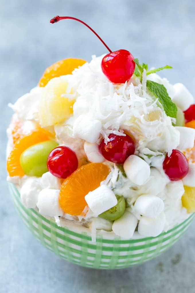 Ambrosia Salad {Dinner at the Zoo}