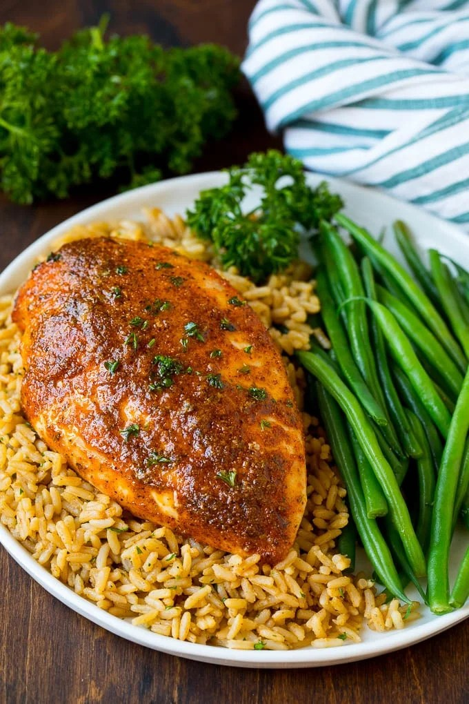 Baked Cajun Chicken - Dinner at the Zoo