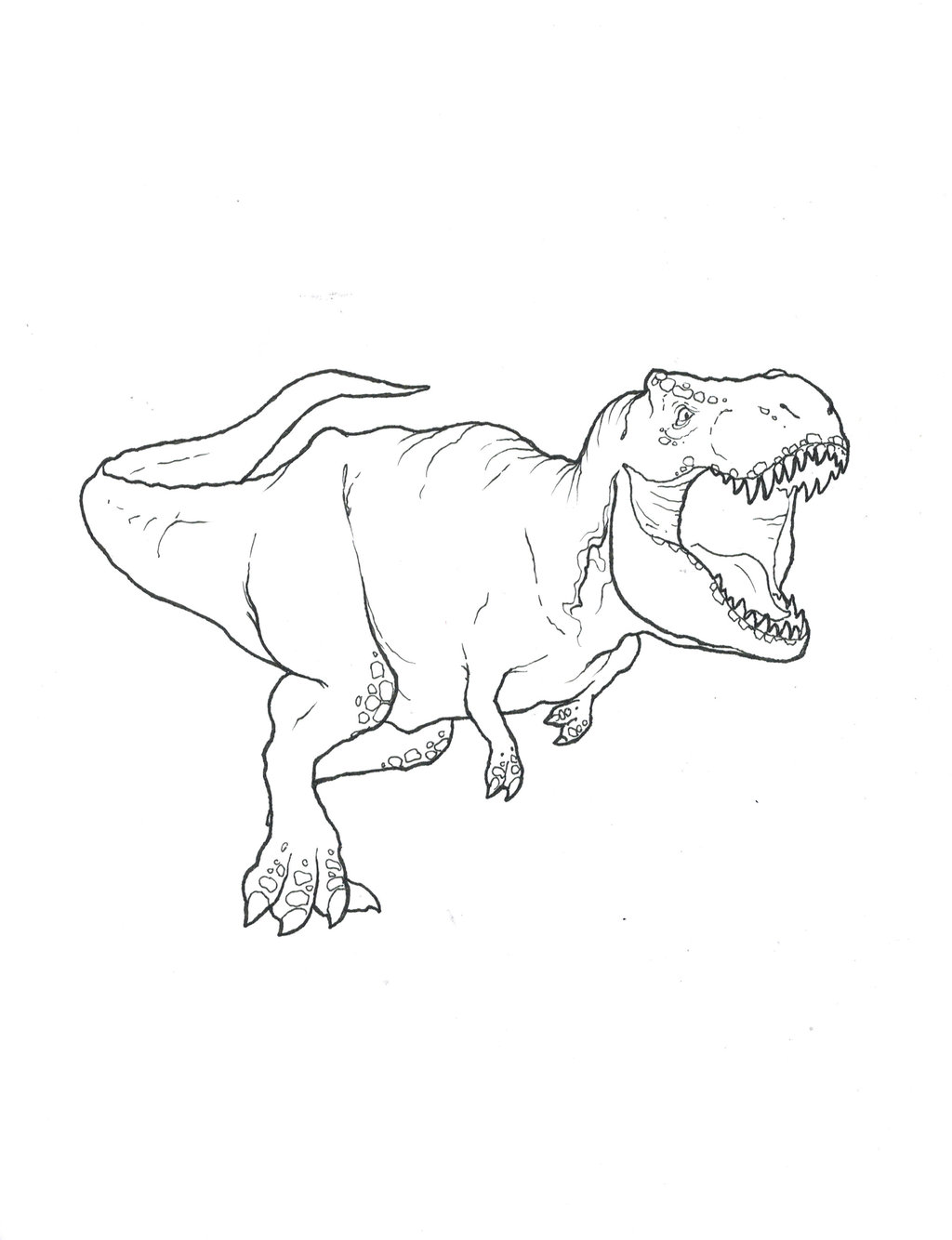 T Rex Coloring Pages Free Dinosaurs Pictures And Facts