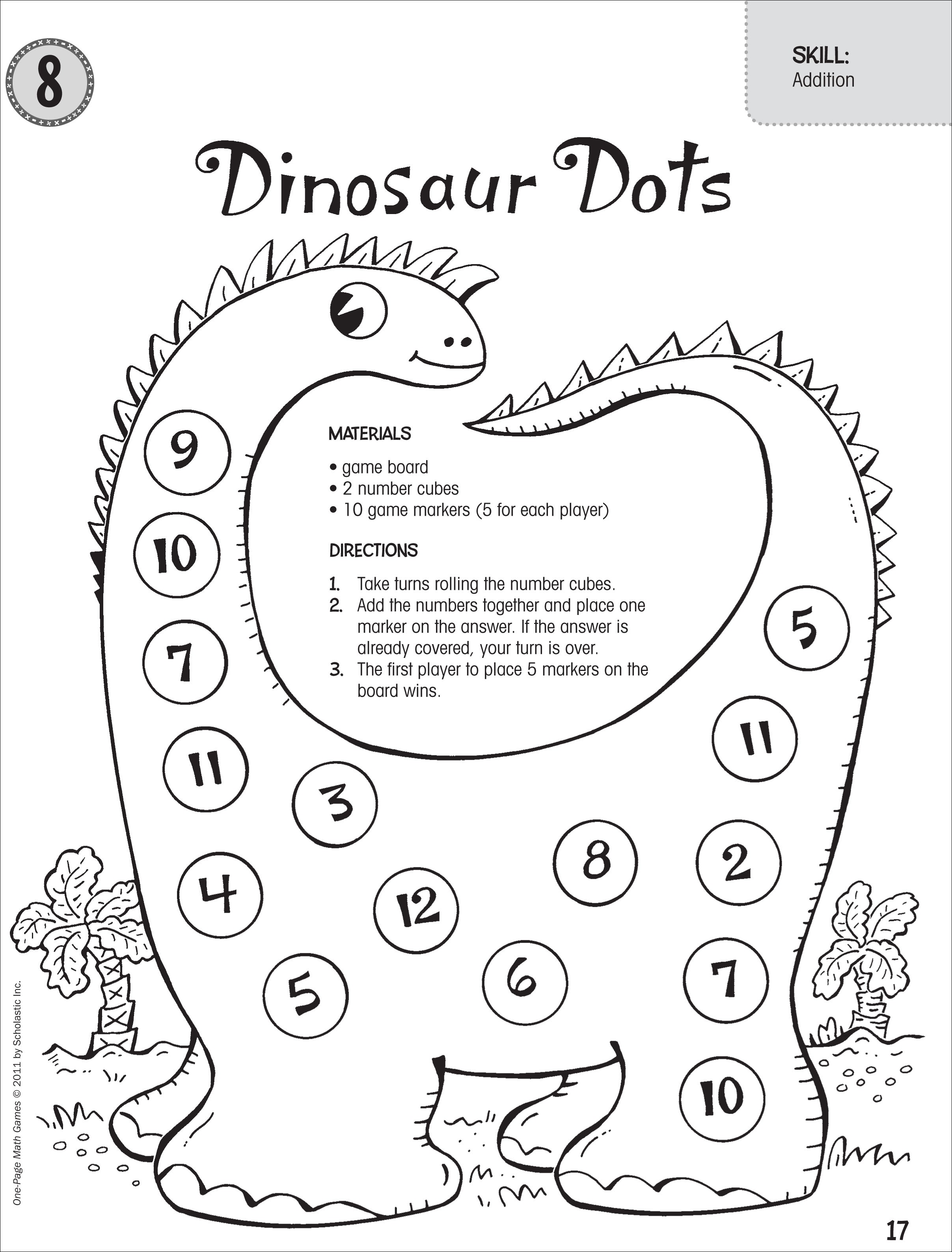 Dinosaur Math Games For Preschoolers Dinosaurs Pictures