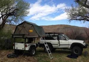Dinoot Jeep Trailers Jeep Style Fiberglass Lightweight Compact Camping Trailer DIY Dinoot Trailer