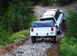 Jeep Trailer Dinoot J-Series Fiberglass Tub Kit