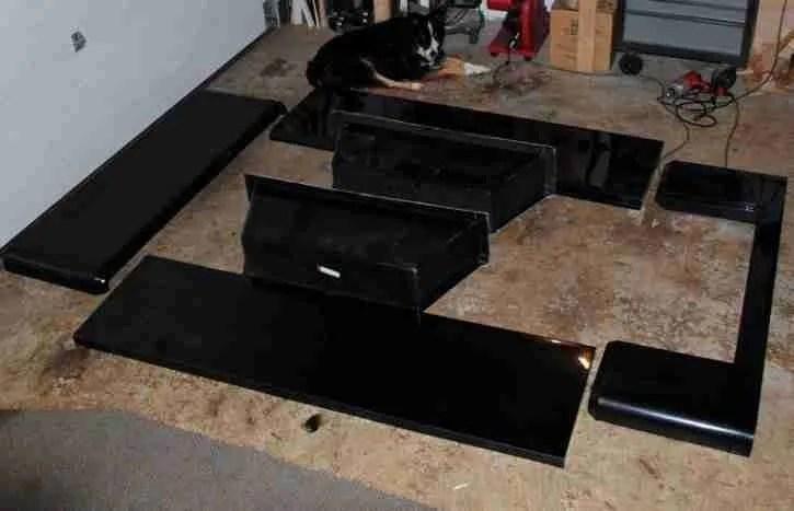 Jeep Trailer Fiberglass Tub Kit by Dinoot Trailers