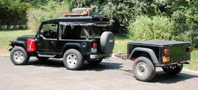 Jeep Trailer Customer build Dinoot Jeep Trailer Tub Kits