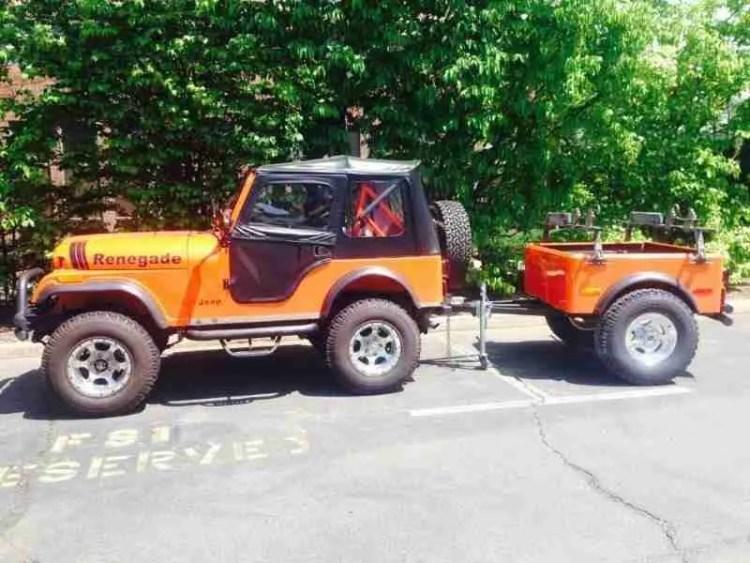 Jeep Trailer Customer Build