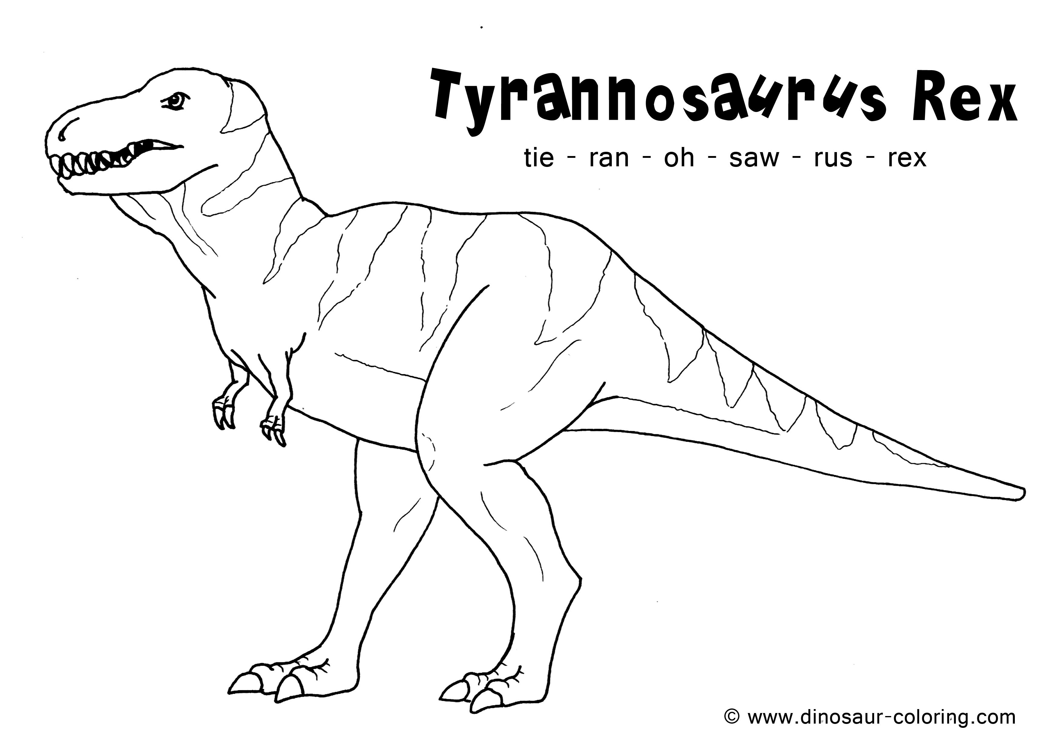 T Rex Coloring Worksheet Printable Worksheets And Activities For