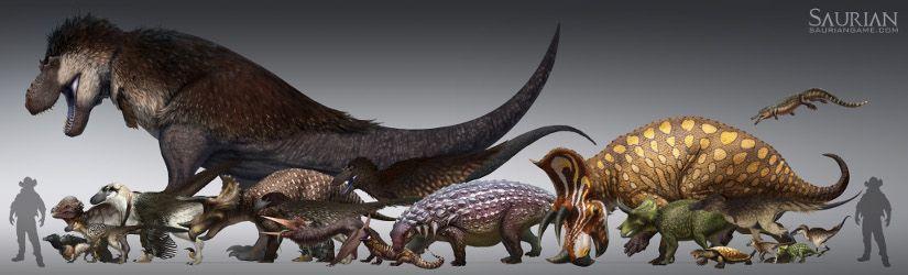 saurian dinosaur survival game