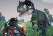 sci fi dinosaur video game