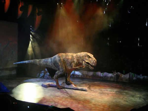 Reconstitution d'un Tyrannosaurus Rex