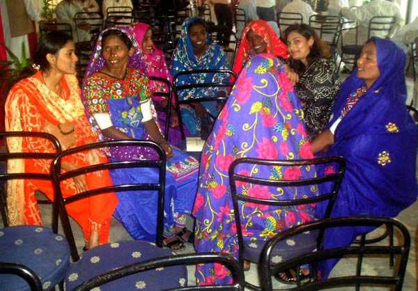 Communauté féminine au Pakistan