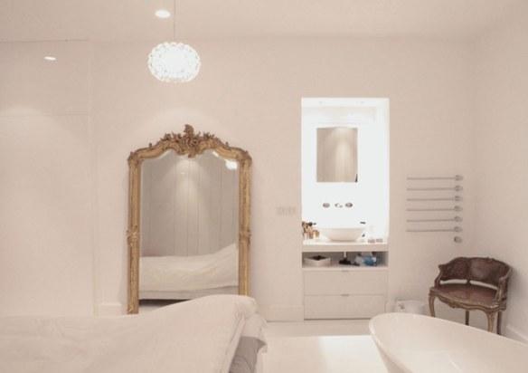 decoración espejo