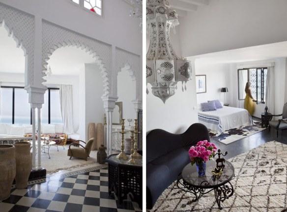 decoración étnico árabe mediterránea