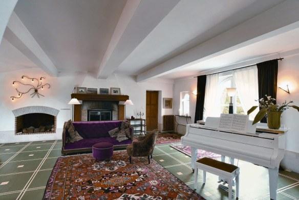 decoración salón elegante estilo clásico y moderno
