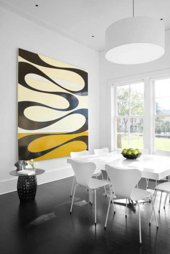 Decoración casa moderna en blanco