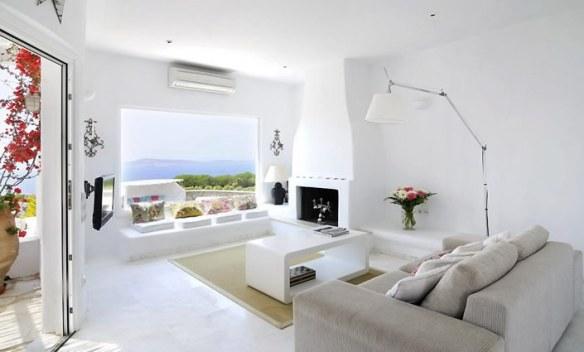 salón blanco natural