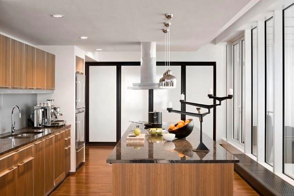 cocina decorada lujo estilo contemporáneo